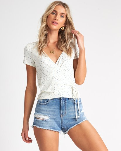 0 Find Me Top White J9181BFI Billabong