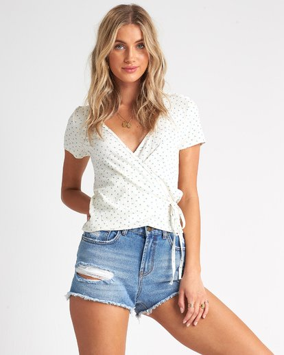 1 Find Me Top White J9181BFI Billabong