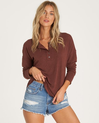 3 Any Day Top Purple J918WBAN Billabong