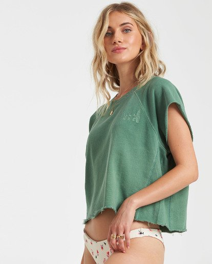 1 Gold Coast Top Green J9202BGO Billabong