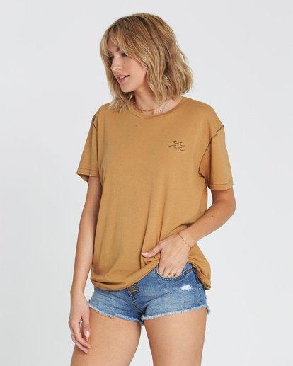 1 Beach Daze Short Sleeve T-Shirt Yellow J921NBBE Billabong