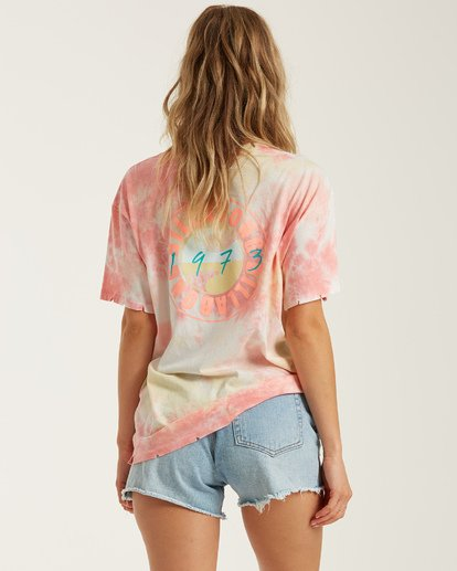 3 Beach Comber Tie-Dye Top Black J9222BBE Billabong