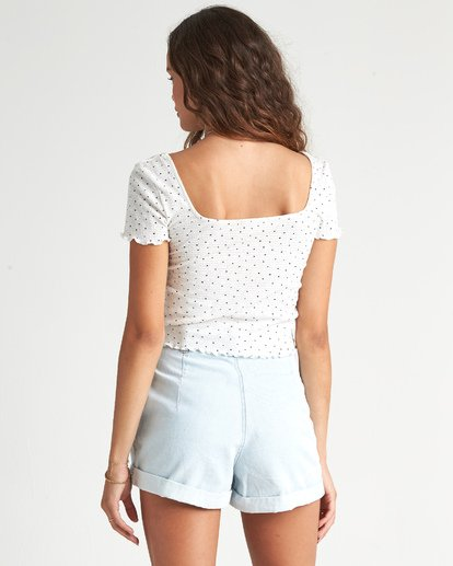 2 Squared Away Top White J9241BSQ Billabong