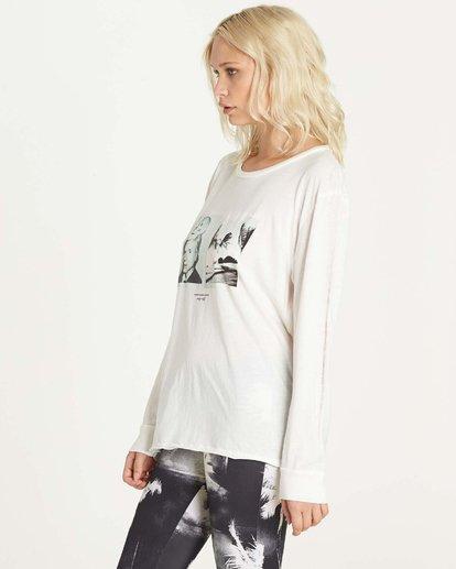 1 Warholsurf Hidden Palms Long Sleeve T-Shirt  J927LHID Billabong
