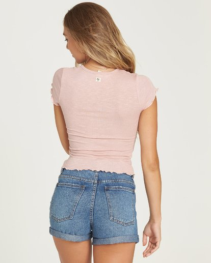 1 Baby Me T-Shirt Pink J941UBBA Billabong
