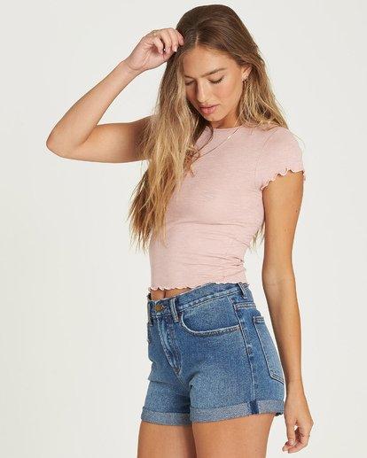 2 Baby Me T-Shirt Pink J941UBBA Billabong