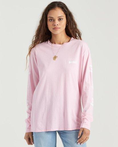 3 Into The Sunset T-Shirt Purple J9543BIN Billabong