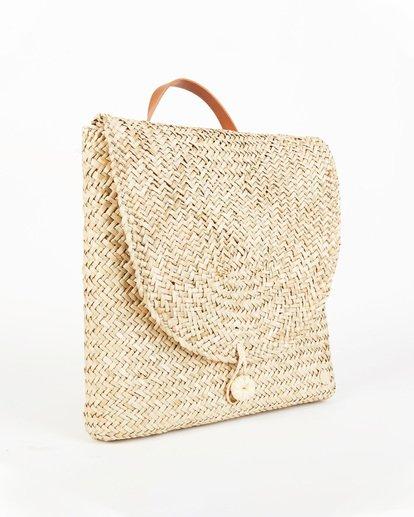 4 Changing Tides Straw Backpack White JABG1BCH Billabong
