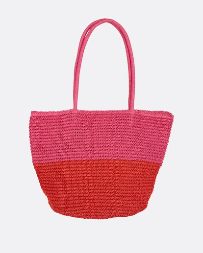 2 Heart N' Soul Straw Tote Bag  JABGPBHE Billabong