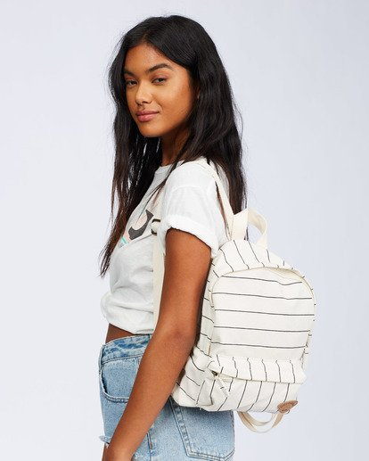 0 Mini Mama Backpack White JABGQBMI Billabong