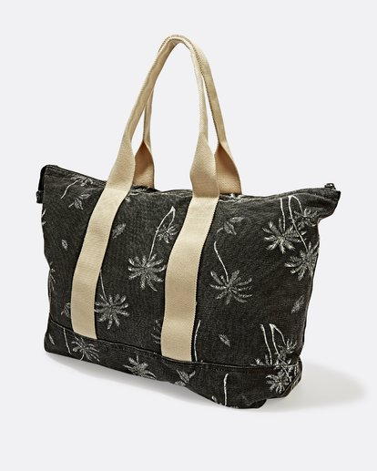 1 Never Over Tote Bag Black JABGSBNR Billabong
