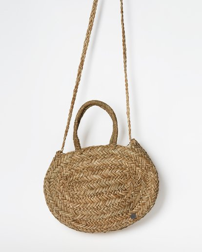 0 Had Me At Aloha Straw Tote Bag Brown JABGTBHA Billabong