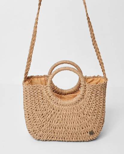 3 Dream Weaver Straw Bag Beige JABGUBDR Billabong