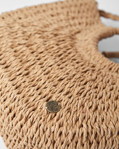 4 Dream Weaver Straw Bag Beige JABGUBDR Billabong