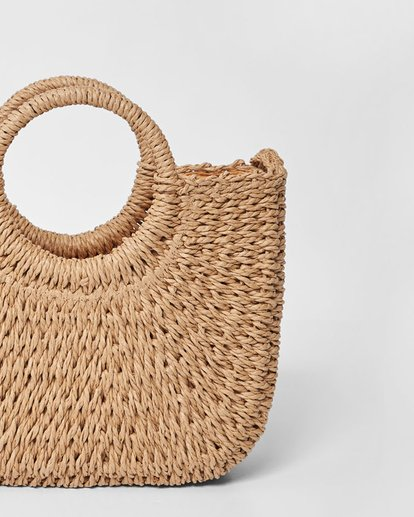 0 Dream Weaver Straw Bag Beige JABGUBDR Billabong