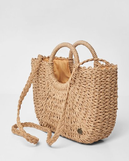 2 Dream Weaver Straw Bag Beige JABGUBDR Billabong