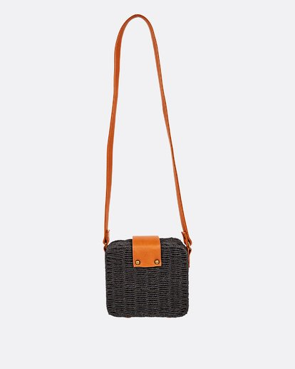 3 Gimme Some Straw Bag Black JABGUBGI Billabong
