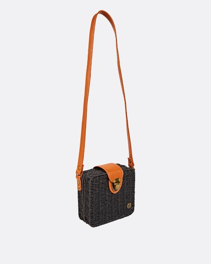2 Gimme Some Straw Bag Black JABGUBGI Billabong