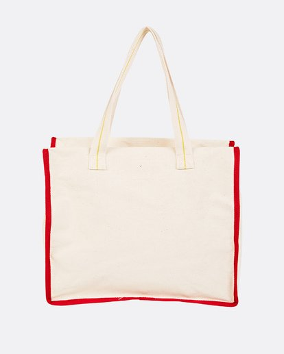 3 Going Places Tote Bag White JABGUBGO Billabong