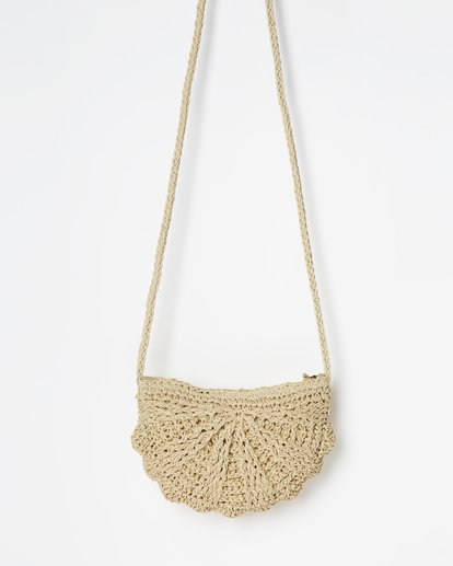 2 Beach Bliss Straw Crossbody Beige JABGVBBE Billabong