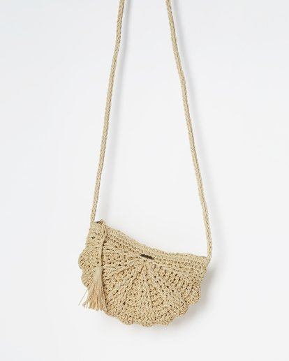 1 Beach Bliss Straw Crossbody Beige JABGVBBE Billabong