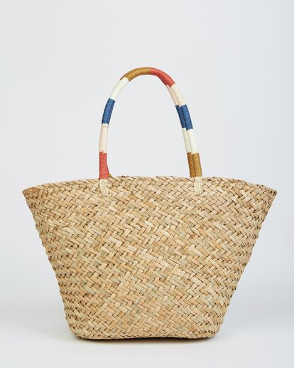 2 Nature Calls Straw Tote White JABGVBNA Billabong