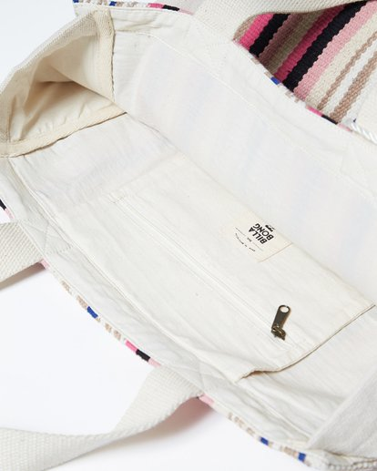 4 Sweet Sun Canvas Tote Bag White JABGVBSW Billabong