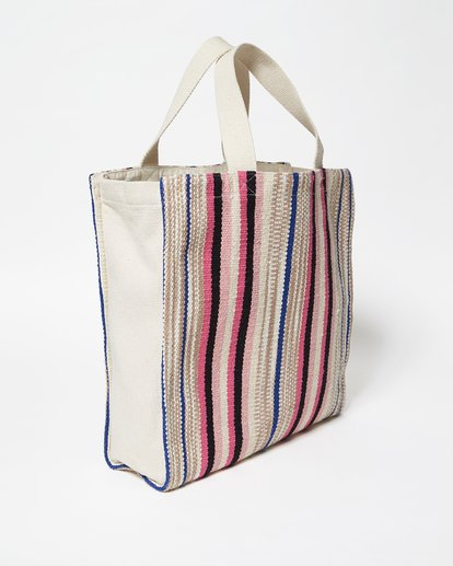 2 Sweet Sun Canvas Tote Bag White JABGVBSW Billabong