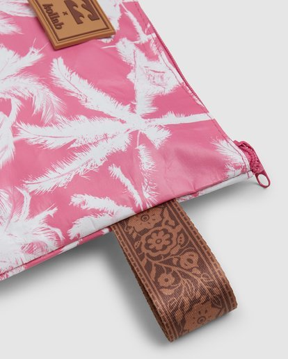 5 Kollab Pretty Palms Clutch Pink JABGWBPP Billabong