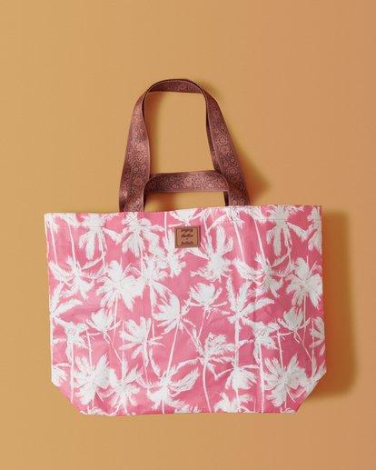 1 Kollab Pretty Palms Shopper Pink JABGWBPS Billabong