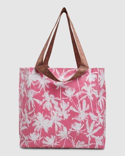 5 Kollab Pretty Palms Shopper Pink JABGWBPS Billabong