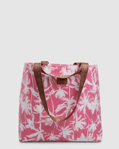 6 Kollab Pretty Palms Shopper Pink JABGWBPS Billabong
