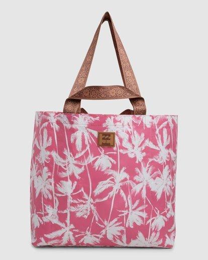2 Kollab Pretty Palms Shopper Pink JABGWBPS Billabong