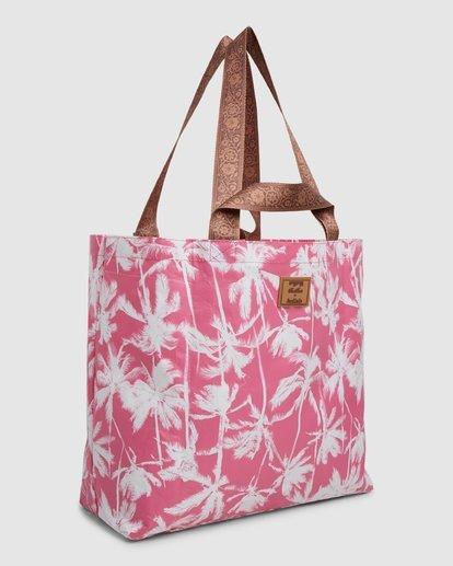 3 Kollab Pretty Palms Shopper Pink JABGWBPS Billabong