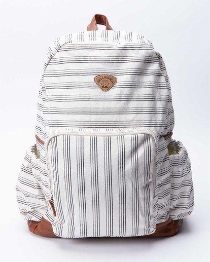 1 Home Abroad Backpack Orange JABK3BHO Billabong