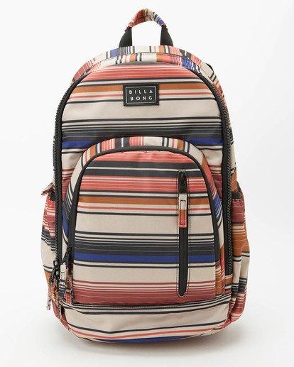 0 Roadie Backpack Grey JABK3BRB Billabong