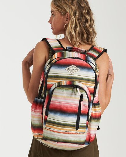 0 Roadie Backpack Grey JABKLROA Billabong