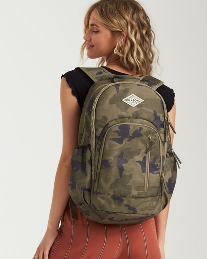 0 Roadie Backpack Camo JABKLROA Billabong