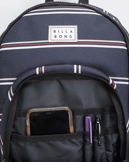10 Roadie Backpack Black JABKLROA Billabong