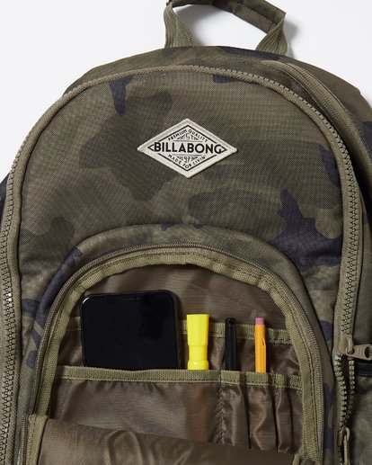 6 Roadie Backpack Black JABKLROA Billabong