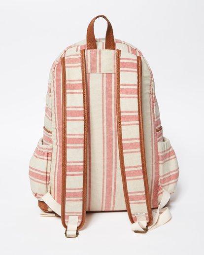 3 Home Abroad Backpack Red JABKQBHO Billabong