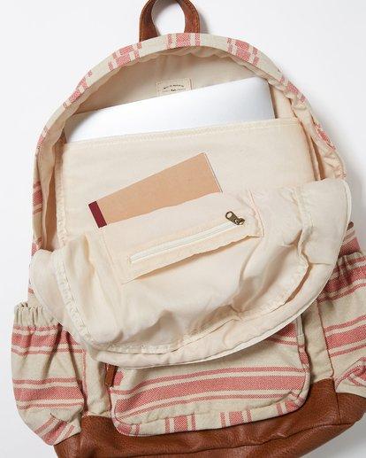 4 Home Abroad Backpack Red JABKQBHO Billabong