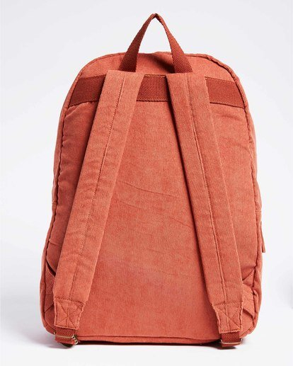 2 Schools Out Cord Backpack Red JABKVBSC Billabong