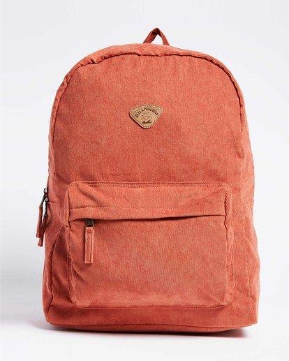 0 Schools Out Cord Backpack Red JABKVBSC Billabong