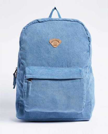 1 Schools Out Cord Backpack Blue JABKVBSC Billabong