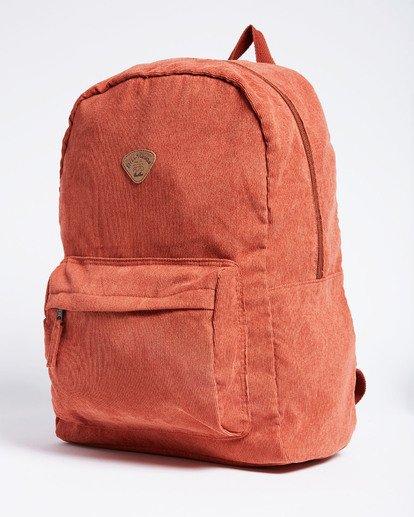 1 Schools Out Cord Backpack Red JABKVBSC Billabong