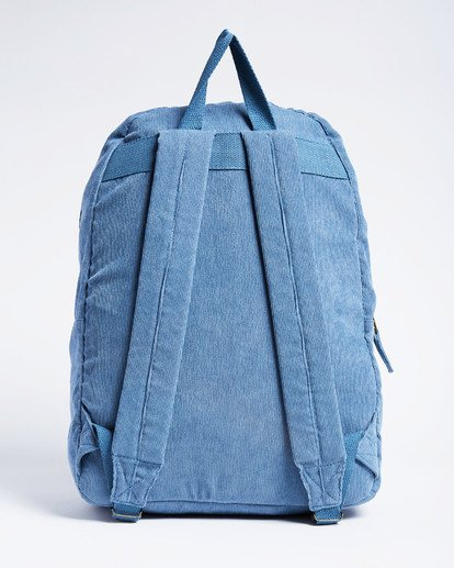 6 Schools Out Cord Backpack Blue JABKVBSC Billabong
