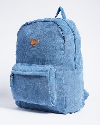 5 Schools Out Cord Backpack Blue JABKVBSC Billabong