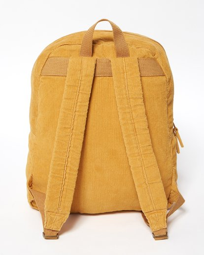 4 Schools Out Cord Backpack Yellow JABKVBSC Billabong