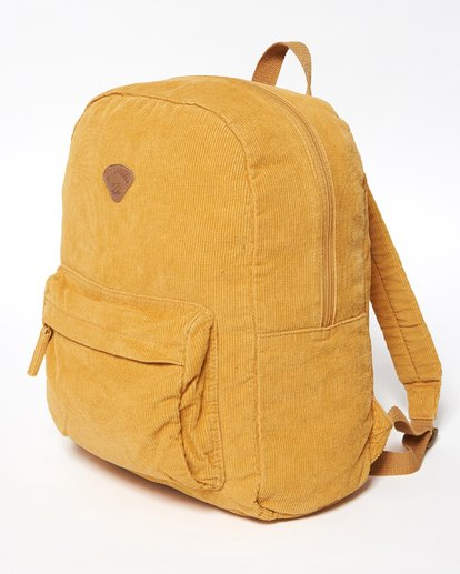 2 Schools Out Cord Backpack Yellow JABKVBSC Billabong